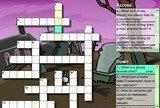 Флеш игры - Creepy Crossword