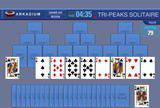 Флеш игры - Tri-Peaks Solitaire