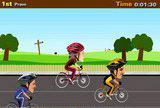 Флеш игры - Cycle racers