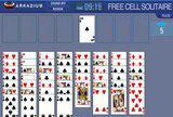 Флеш игры - Free Cell Solitaire