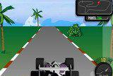 Флеш игры - F1 Tiscalii Race Game