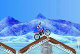 Флеш игры - Bike Mania on ICE